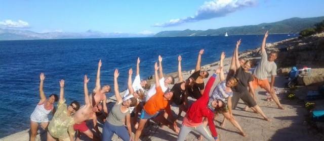 Életmódtábor Horvátországban jógával, meditációval 2016